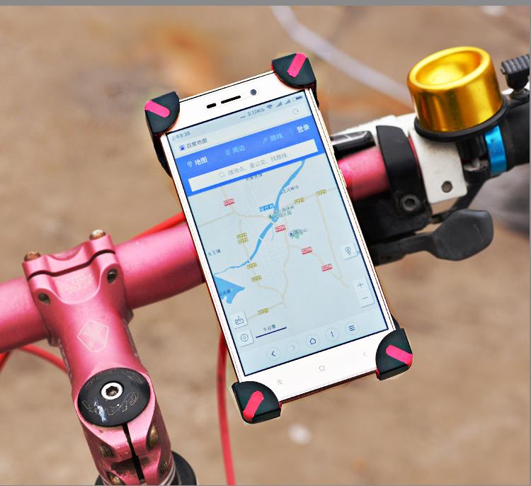 El teléfono móvil de un tranvía eléctrico de motocicletas y marco de una batería de auto eléctrico de poner el teléfono fijo de soporte de navegación