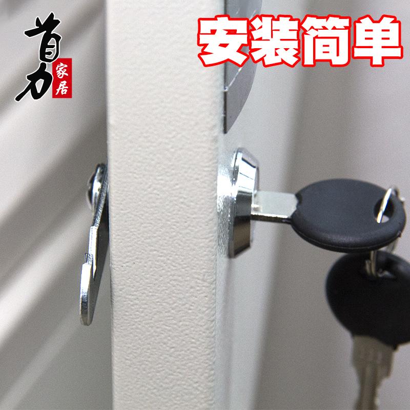 дървени шкафове двойна врата отвори дупка в седем шрифт брави за мебели, заключи чекмеджето на заключена на езика, заключи шкафа ключалка.