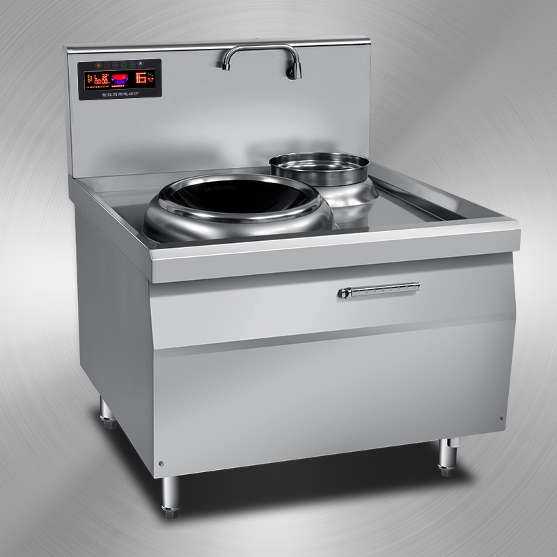 Five of the commercial electromagnetic oven concave 15kw commercial diancizao high power electromagnetic oven frying stove 8000w electric frying stove