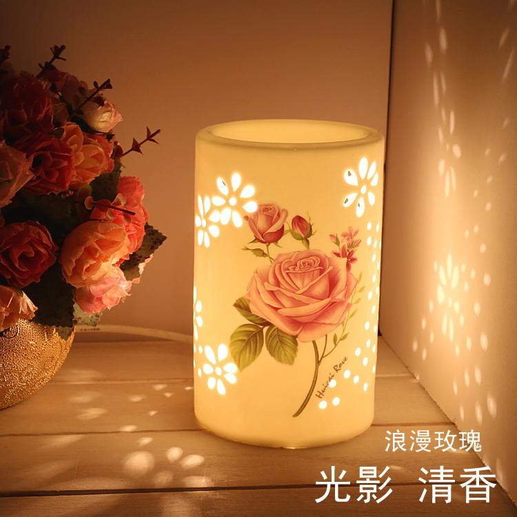 Европейский отправить цветы Каору лампа эфирные масла лампа включить радио лампа бытовой салон красоты Ароматерапия spa специальный аромат