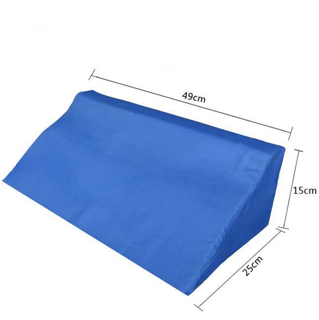 Oreiller renversé endolori vieux côté oreiller type entrejambe lit patient produit triangle soin éponge anti-acariens