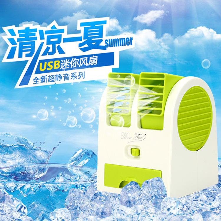 Mini ventilador de refrigeração ventilador de refrigeração mini portable mini criativa - AR condicionado Quartos de água elétrico