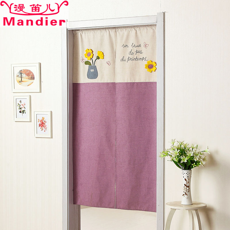Vorhang tuch Bad Feng - Shui - schlafzimmer Tür toilette dekoration der koreanische prinzessin schlafzimmer semi - vorhang Frisch