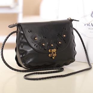 กระเป๋าสะพายข้าง แฟชั่นเกาหลีสวยใบเล็กแนววินเทจ นำเข้า - พรีออเดอร์IS953 ราคา850บาท