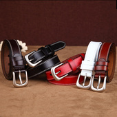 Women's Thin Leather Belt