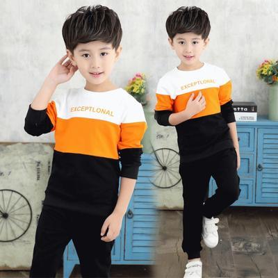 儿童秋装套装2男童2016新款3潮8岁9男宝宝4小孩衣服5