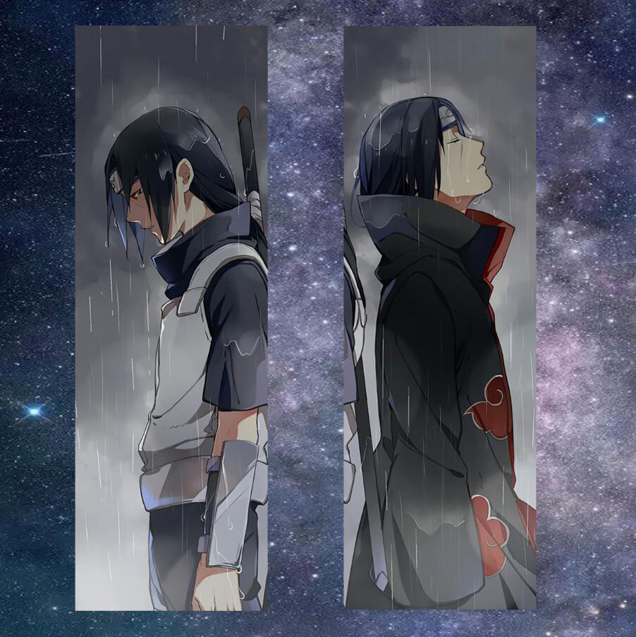 NARUTO Uchiha Itachi Anime Dakimakura Pillow Cover Case ...