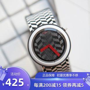 Swatch Swatch наручные часы мода студент POP серия творческий диск кварц случайный мужской и женщины Стол PNB104