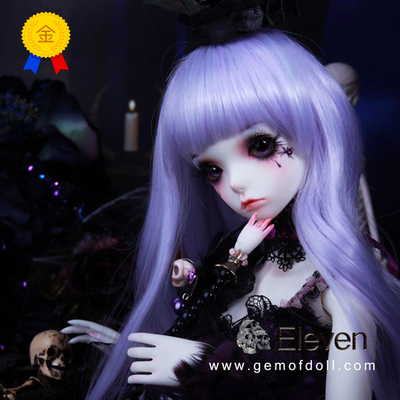 taobao agent 【GEM clothing】1/3bjd baby clothes, Halloween dark luxury fishbone skirt suit, 3 points doll clothes