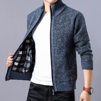春秋季2019新款男士针织衫韩版潮流个性帅气外穿开衫毛衣外套潮牌