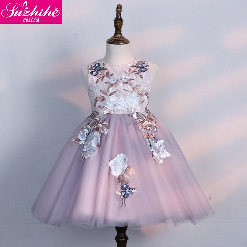 兒童裙子夏季小女孩洋氣網紗裙