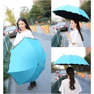 晴雨伞女折叠两用遮阳伞创意遇水开花广告雨伞防紫外线太阳伞62