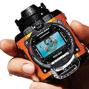 Máy ảnh chống nước thể thao Ricoh Ricoh WG-M1 Lặn ngoài trời ba máy ảnh kỹ thuật số chính hãng chống mới - Máy ảnh kĩ thuật số