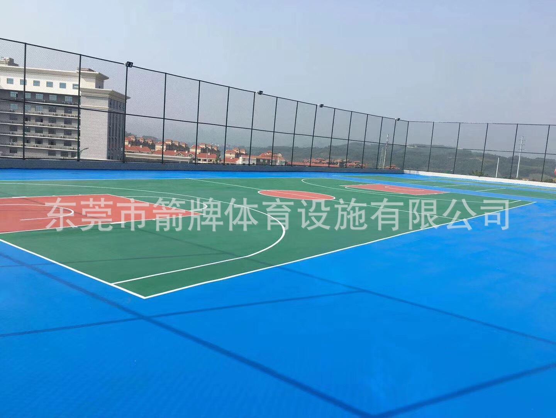 硅PU球场工程 丙烯酸篮球场工程施工 供应各类球场地面围网材料