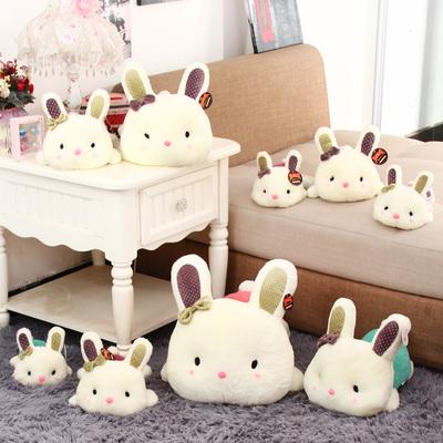 毛绒玩具兔布娃娃_可爱宝宝趴趴兔毛绒玩具玩偶咪咪兔公仔小白兔子娃娃生日礼物 ...