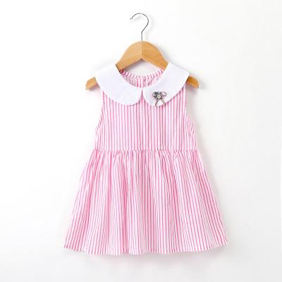女童连衣裙韩版2018新款夏装儿童无袖小女孩洋气