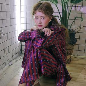 ~早春推荐! 韩国 chic  #1167 家居服套装  (不褪色)