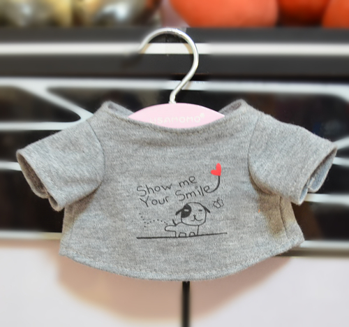 Teddy bear teddy bear cà phê hoành hành quần áo T-Shirt có thể được tùy chỉnh LOGO quần áo búp bê phụ kiện món quà