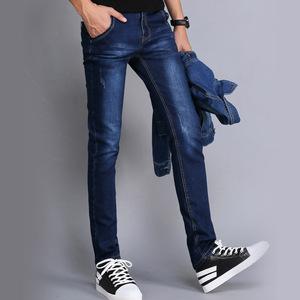 以慕琦男式牛仔裤修身直筒牛仔裤男男裤