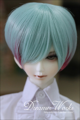 taobao agent 3 points uncle BJD/SD doll wig hair/high temperature silk HT-male god ~ short hair water rouge 1/3