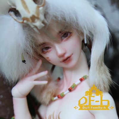 taobao agent Free shipping gift pack DF-H Yuejian 1/4 SD doll bjd doll male baby muscle body