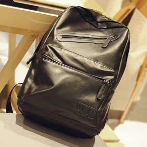 新款PU 时尚背包拉链装饰学生背包 旅行背包 书包B017-P58