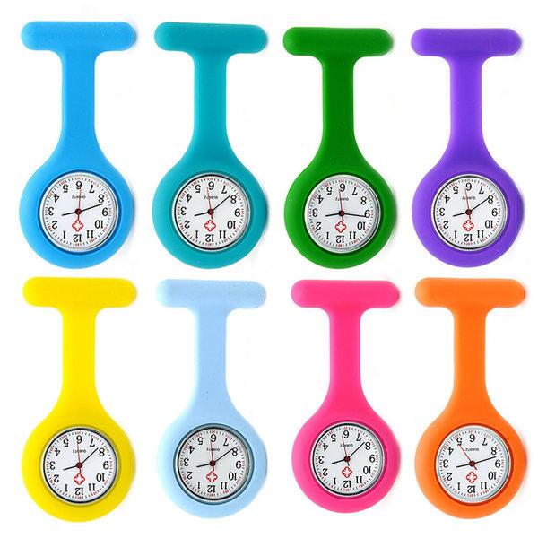 Силиконовый медсестра таблица электронный женщины могут Любовь водонепроницаемый штифт Карманные часы серебристые стрелка зеркало телескопической Карманные часы студент Сундук для экзаменов