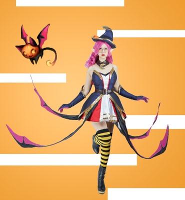 taobao agent Deep Sea Home】Jana Halloween style female cosplay costume custom-made