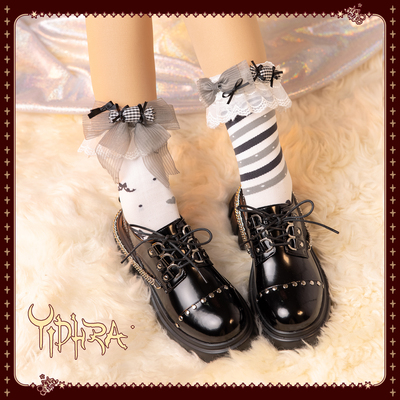 taobao agent Yidhra Dream Witch Original {Sweet Fantasy World}Lolita Socks Cute Sweet Black Sweet