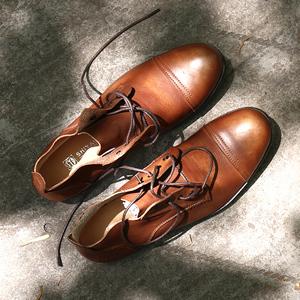 Thời trang phong cách Người Anh Martin khởi động nam vòng đầu da ren khởi động của nam giới cao-top casual retro khởi động xu hướng giày
