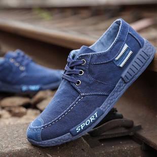 老北京秋季布鞋男士百搭板鞋帆布鞋休闲鞋