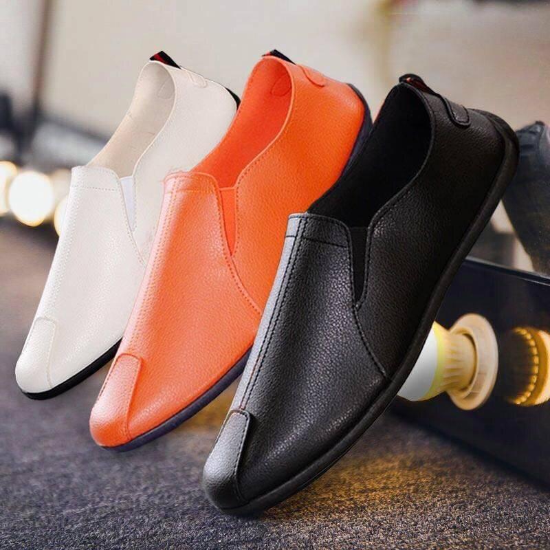 豆豆鞋男士休闲鞋一脚蹬懒人鞋男鞋限10000张券