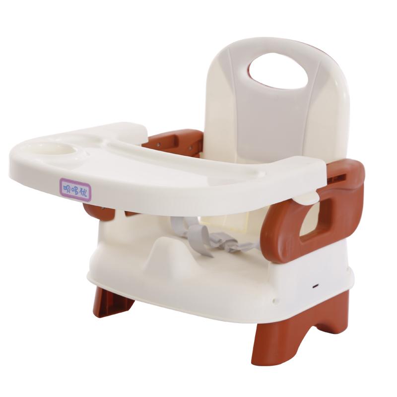 儿童餐椅宝宝椅吃饭桌多功能可折叠婴儿靠背椅带餐盘便携式餐座椅