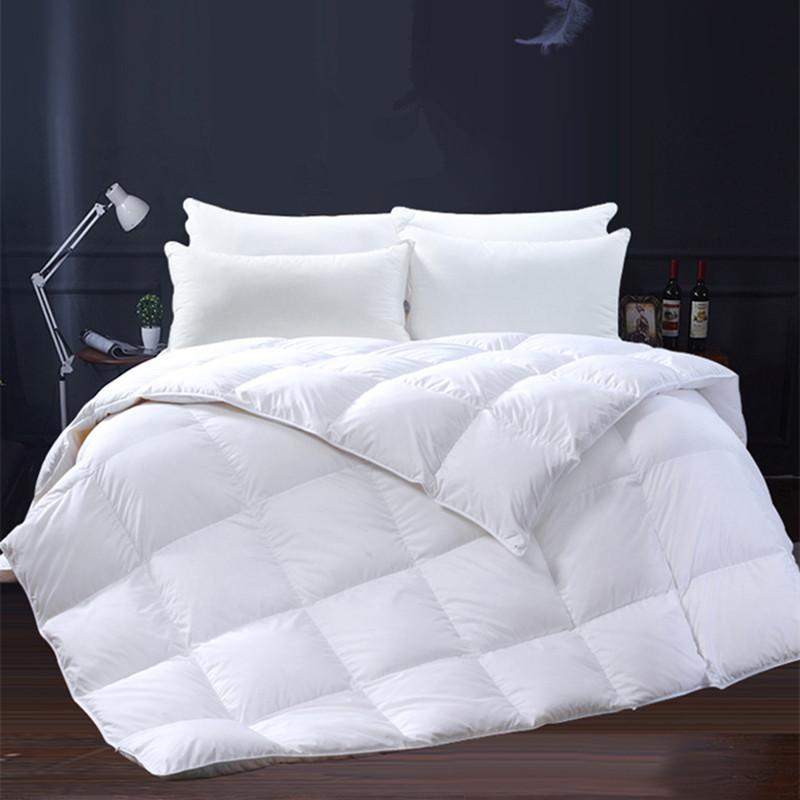酒店羽绒被95白鹅绒被芯春秋被子冬季加厚冬被单双人学生棉被特价