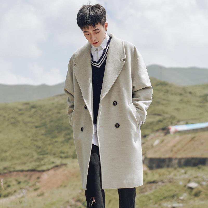 Áo khoác len đôi mùa đông quyến rũ cho nam - Áo len