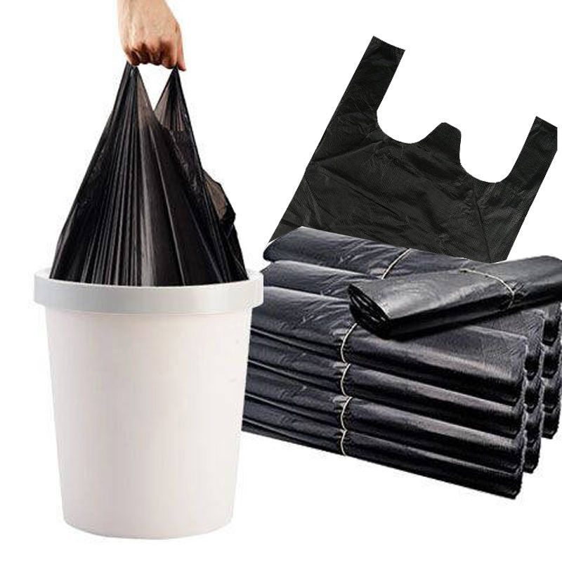 【加厚】一次性手提塑料垃圾袋50只