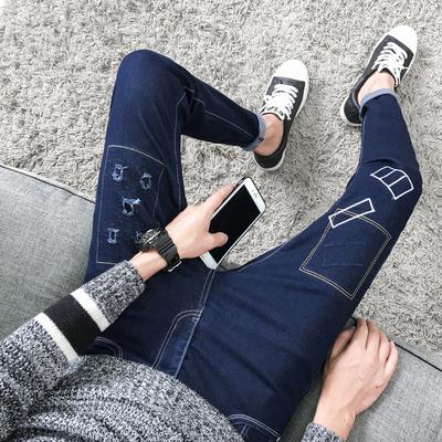 多款任选青少年小脚修身牛仔裤