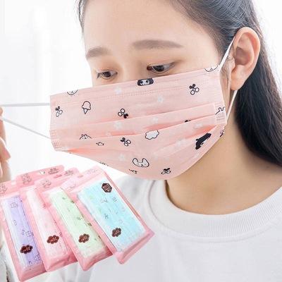 一次性防尘防雾霾防细菌防病毒口罩