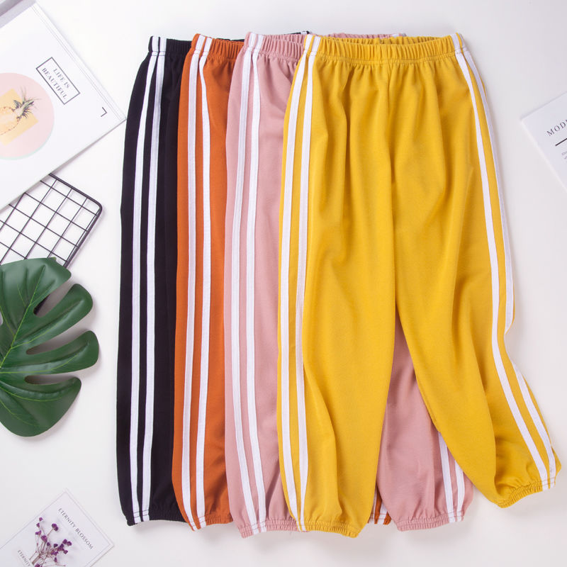 儿童夏季薄款防蚊裤运动灯笼裤