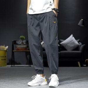 2020夏季新款四季男士宽松休闲运动哈伦9分裤薄款九分长裤子潮