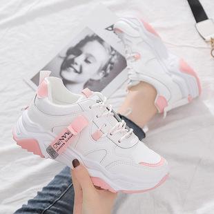 老爹鞋子女ins小白鞋秋季新款跑步鞋