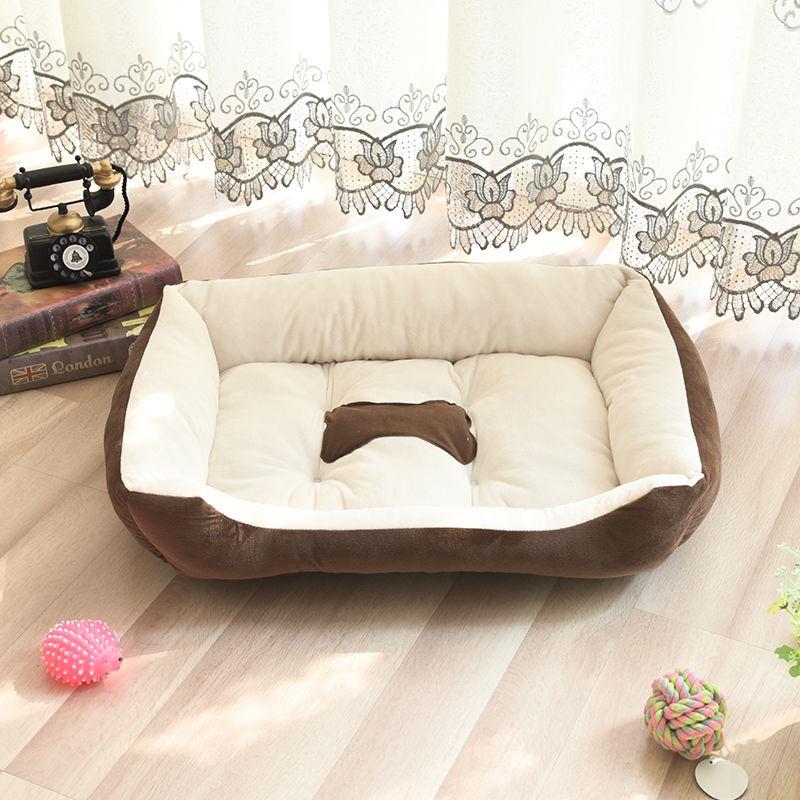 网红四季通用宠物狗窝垫子泰迪猫窝小型中型大型犬泰迪宠物用品床