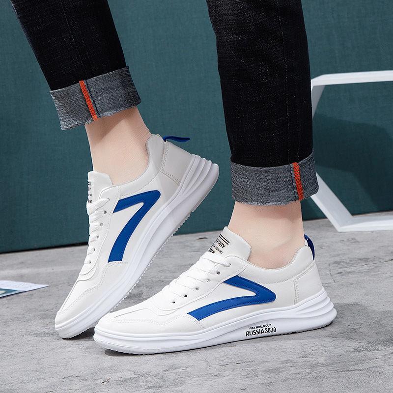2021男鞋夏季新款欧洲站潮鞋男士休闲刺绣韩版小白鞋网红板鞋子男