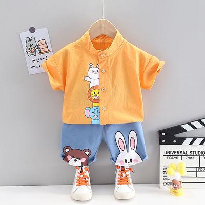 女童夏装背心裙条纹2020新款无袖T恤洋气儿童连衣裙韩版宝宝裙子