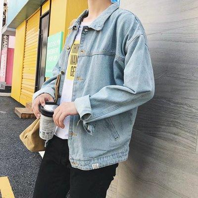 Hồng Kông phong cách đẹp trai denim áo khoác sinh viên Hàn Quốc mùa xuân ulzzang lỏng vài áo khoác xu hướng trai áo sơ mi