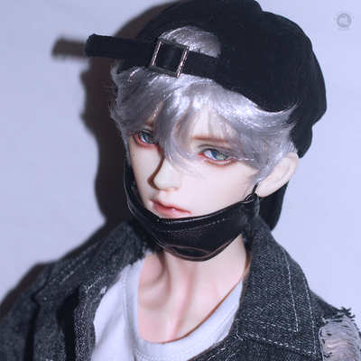 taobao agent Lazy baby bjd doll wig sd doll male and female baby wig 3468 points servicing short hair easy to lure imitation mohair