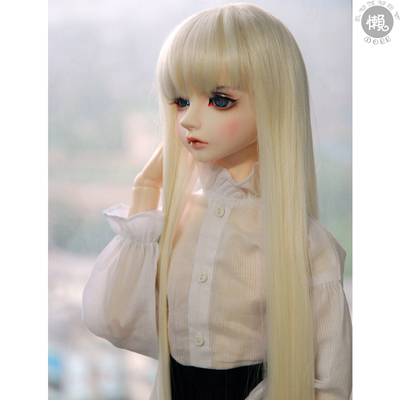 taobao agent BJD male and female baby sd doll daily wig 643 points uncle giant baby and wind a knife multi-color straight long hair