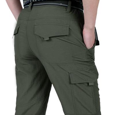 Jeep lá chắn quần âu nam màu quân sự ngoài trời đi bộ đường dài du lịch nhanh chóng làm khô quần nam overalls quần quân sự quần nam mỏng quần mới Quần làm việc