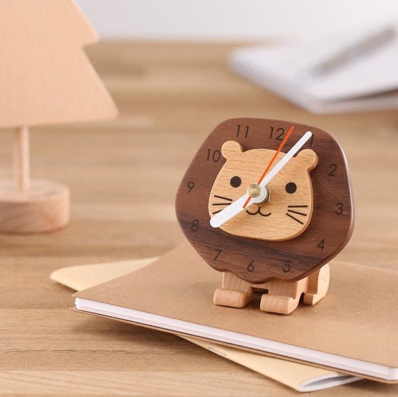 木匠兄妹法兰狮座钟,给女生创意桌面摆件