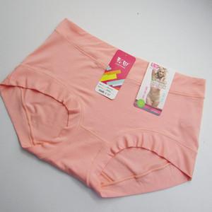 4 túi màu lĩnh vực đồ lót của phụ nữ eo đích thực phương thức bông vải mềm mại và thoải mái mùa hè ladies boxer